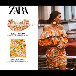 ❤️❤️ZARA 2 piece limited edition top & skirt